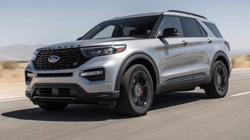 2020 Ford Explorer collision repair