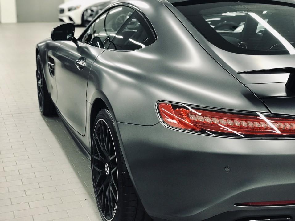 Mercedes certified body damage repair